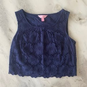 NWOT Lilly Pulitzer Crop Top